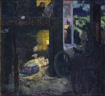 Nativity | Maurice Denis | oil painting