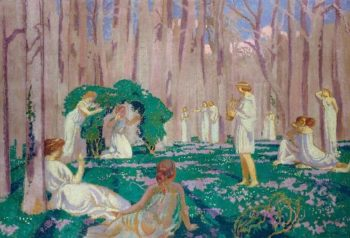 Orpheus and Eurydice | Maurice Denis | oil painting