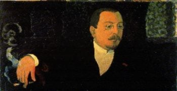 Portrait of Monsieur Huc | Maurice Denis | oil painting