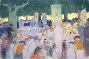 Procession | Maurice Denis | oil painting