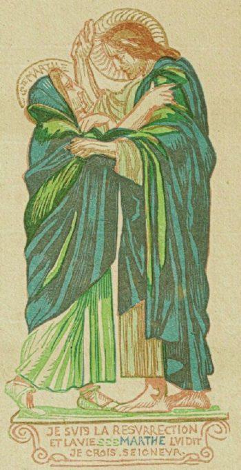 Raising Lazarus | Maurice Denis | oil painting