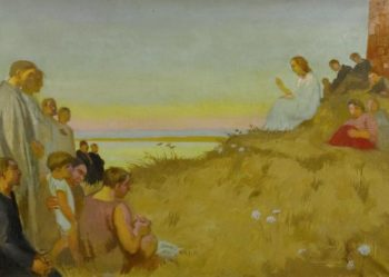 Sermon on the mount | Maurice Denis | oil painting