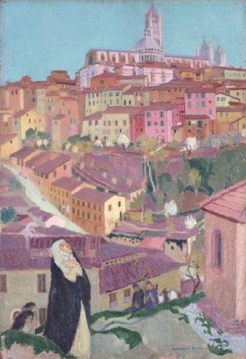 St Catherine of Siena | Maurice Denis | oil painting