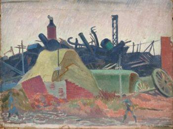 Sucrerie de Flavy le Martel | Maurice Denis | oil painting