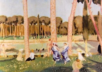 The dance of Alcestis | Maurice Denis | oil painting