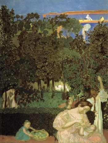 The Harvest | Maurice Denis | oil painting