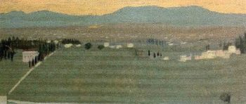 The Outskirts of Fiesole | Maurice Denis | oil painting