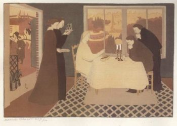 The Pilgrims of Emmaus | Maurice Denis | oil painting