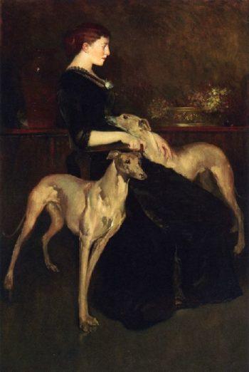 Anna Palmer Draper | John White Alexander | oil painting