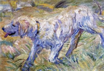 Siberian Dog | Franz Marc | oil painting