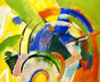 Small Composition IV | Franz Marc | oil painting
