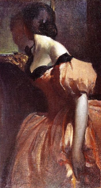Fancy Dress | John White Alexander | oil painting