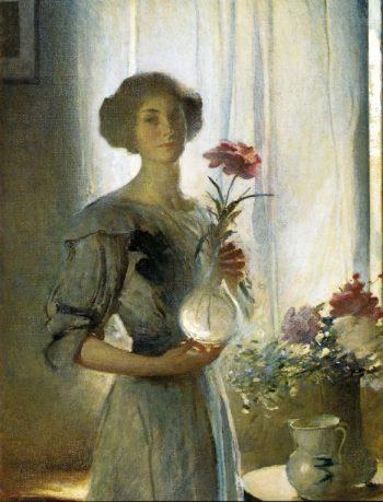 June | John White Alexander | oil painting