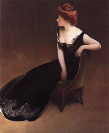Mrs Herman Duryea   John White Alexander   oil painting