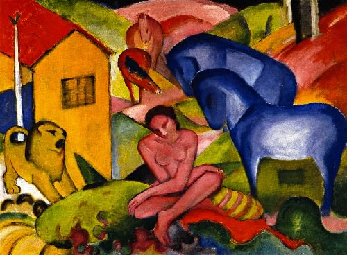 The Dream | Franz Marc | oil painting