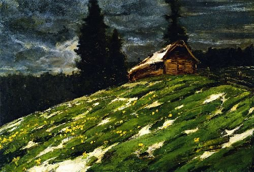 View from the Staffelalm | Franz Marc | oil painting