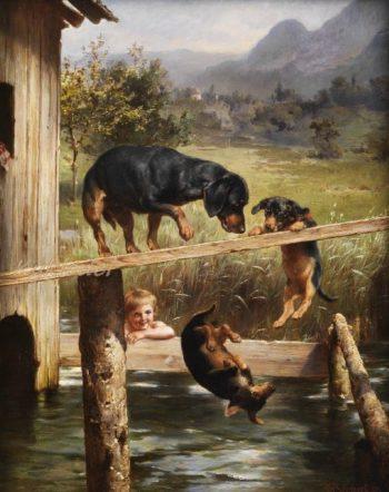 Bad Boy | Carl Reichert | oil painting