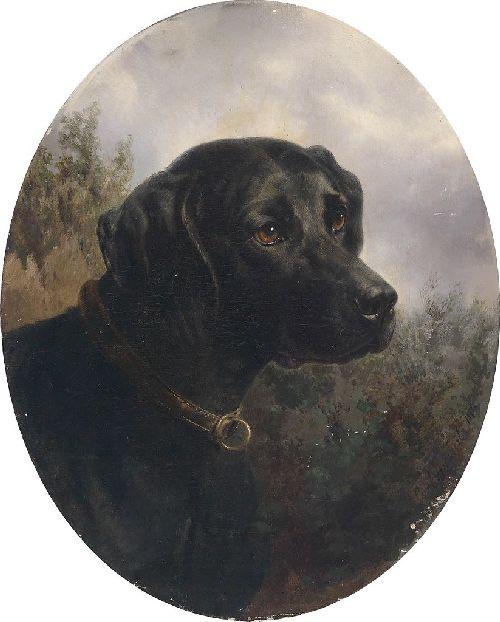 Hector   Carl Reichert   oil painting