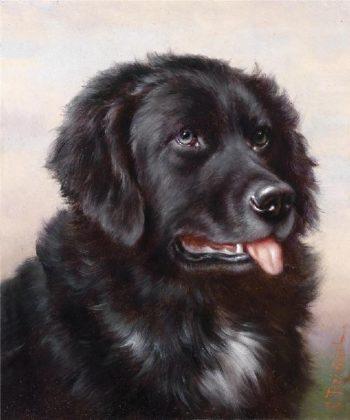 Newfoundland   Carl Reichert   oil painting