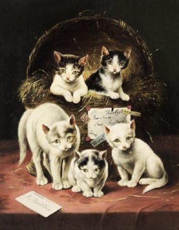 Surprise   Carl Reichert   oil painting