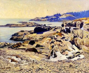 A Rocky Shore | Charles Rosen | oil painting