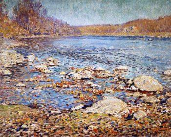 Autumn on the Delaware | Charles Rosen | oil painting