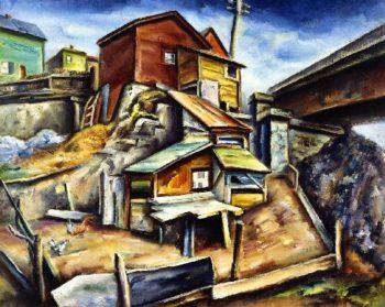 Cliff Dwellings | Charles Rosen | oil painting