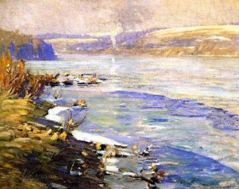 Delaware River near New Hope Pennsylvania | Charles Rosen | oil painting