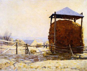 Haystack | Charles Rosen | oil painting