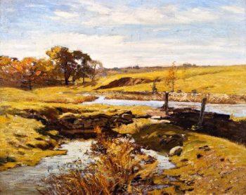 Mill Race | Charles Rosen | oil painting