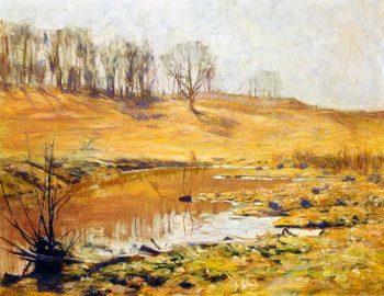 November | Charles Rosen | oil painting