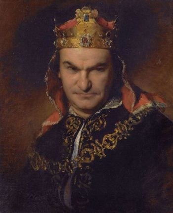 Bogumil Dawison as Richard III | Friedrich von Amerling | oil painting