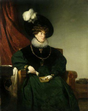 Cacilie Freiin von Eskeles | Friedrich von Amerling | oil painting