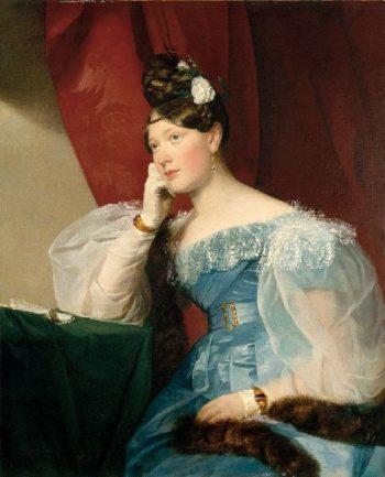 Countess Julie von Woyna | Friedrich von Amerling | oil painting