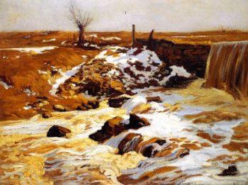 The Mill Pond | Charles Rosen | oil painting
