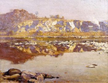 The Quarry | Charles Rosen | oil painting