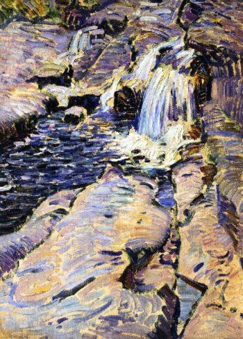 Tumbling Brook | Charles Rosen | oil painting