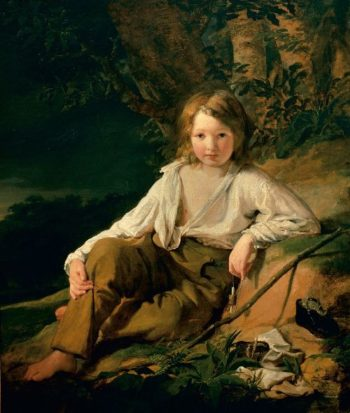 Fisherboy | Friedrich von Amerling | oil painting