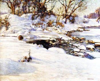 Winter Sunlight   Charles Rosen   oil painting