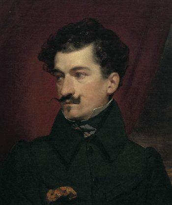 Johann Strau Vater | Friedrich von Amerling | oil painting