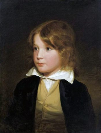 Joseph Amerling As A Child | Friedrich von Amerling | oil painting
