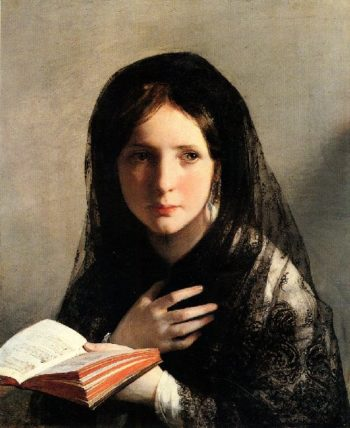 Lost in Dreams | Friedrich von Amerling | oil painting