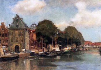 De Waag Haarlem | Floris Arntzenius | oil painting