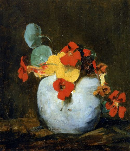 East indian cherry in pot   Floris Arntzenius   oil painting