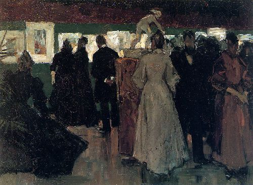 Exposition In Pulchri   Floris Arntzenius   oil painting