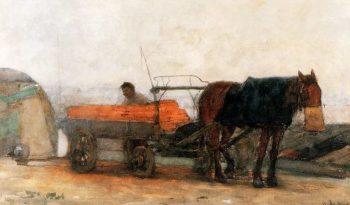 Horse And Carriage | Floris Arntzenius | oil painting