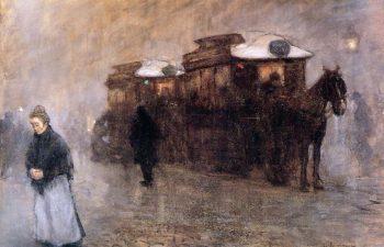 Horse Tram | Floris Arntzenius | oil painting