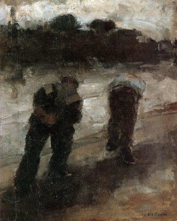 Jaagpad | Floris Arntzenius | oil painting