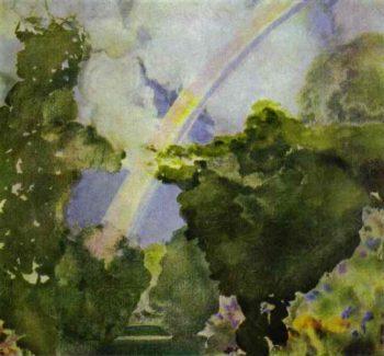 Rainbow | Konstantin Somov | oil painting