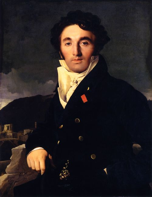 Charles Joseph Laurent Cordier   Jean Auguste Dominique Ingres   oil painting